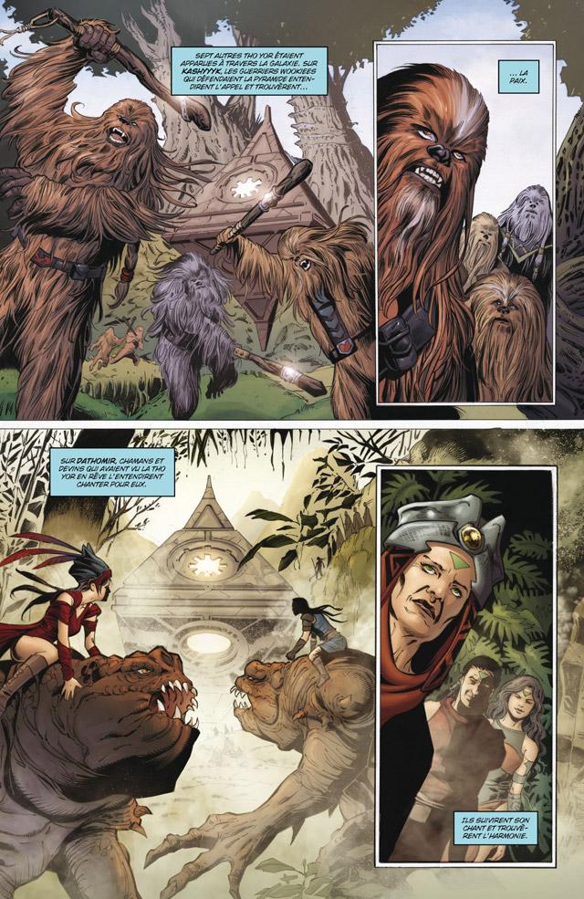 Intégrale Star Wars La Genèse des Jedi - DELCOURT La_gen14