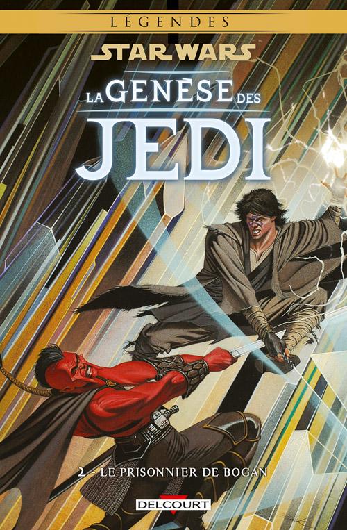 Intégrale Star Wars La Genèse des Jedi - DELCOURT La_gen15