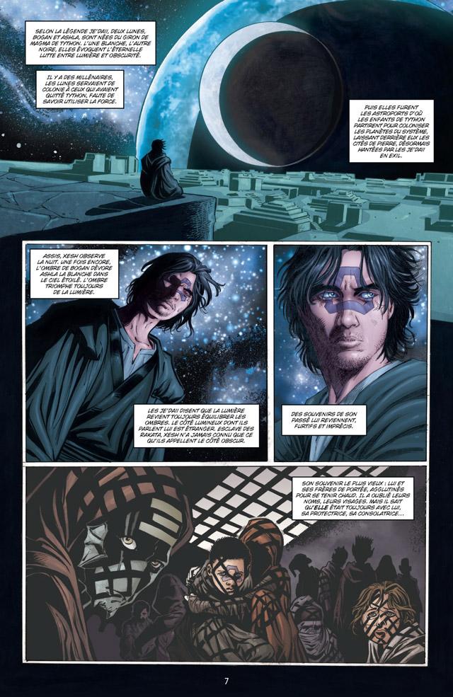 Intégrale Star Wars La Genèse des Jedi - DELCOURT La_gen18