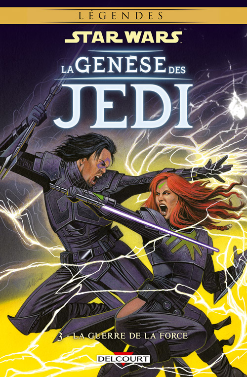 Intégrale Star Wars La Genèse des Jedi - DELCOURT La_gen20