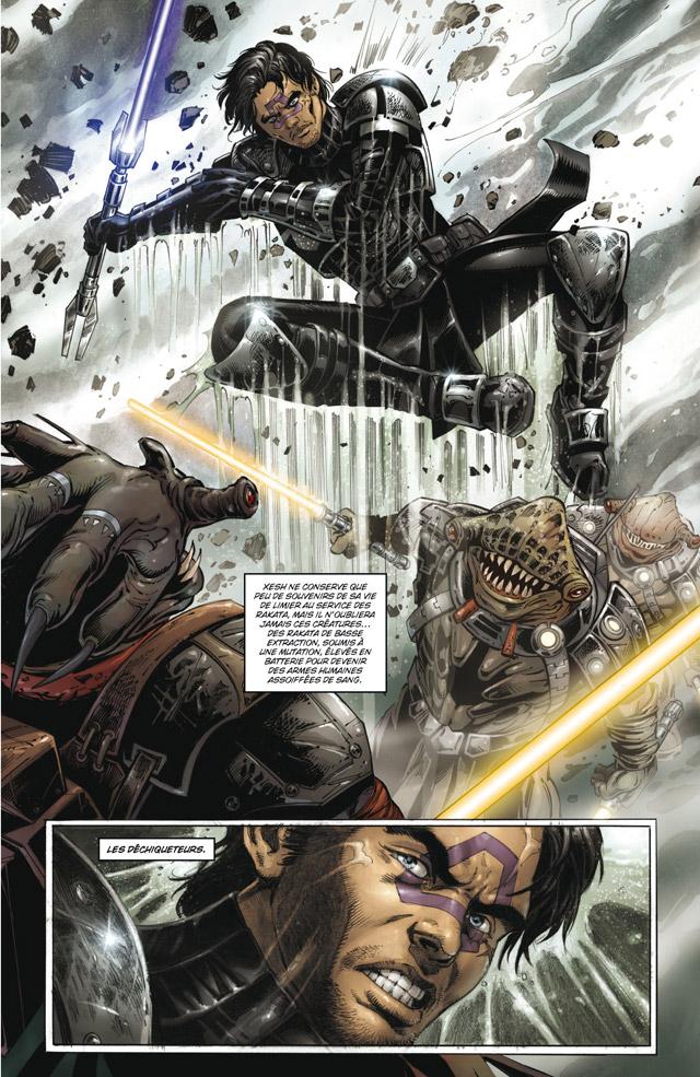 Intégrale Star Wars La Genèse des Jedi - DELCOURT La_gen23