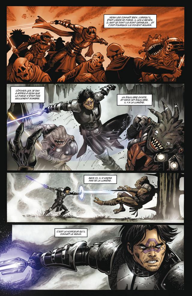 Intégrale Star Wars La Genèse des Jedi - DELCOURT La_gen24
