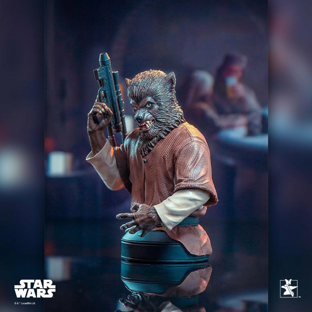Lak Sivrak Mini Bust - Star Wars - Gentle Giant Lak_si13