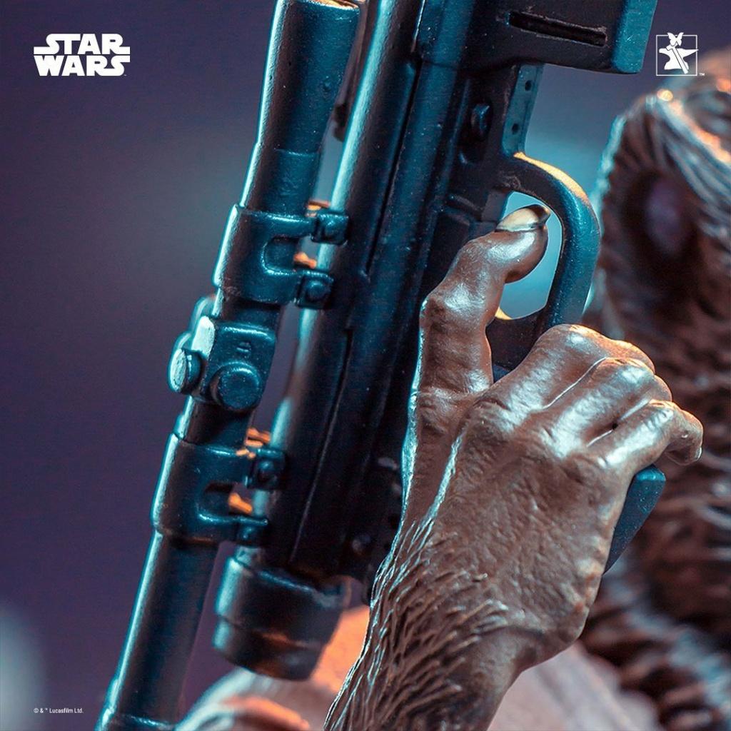 Lak Sivrak Mini Bust - Star Wars - Gentle Giant Lak_si14