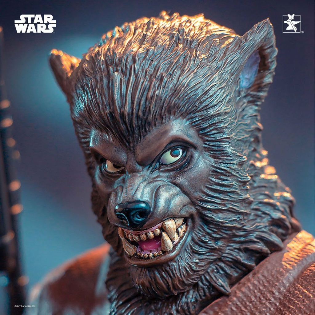 Lak Sivrak Mini Bust - Star Wars - Gentle Giant Lak_si15