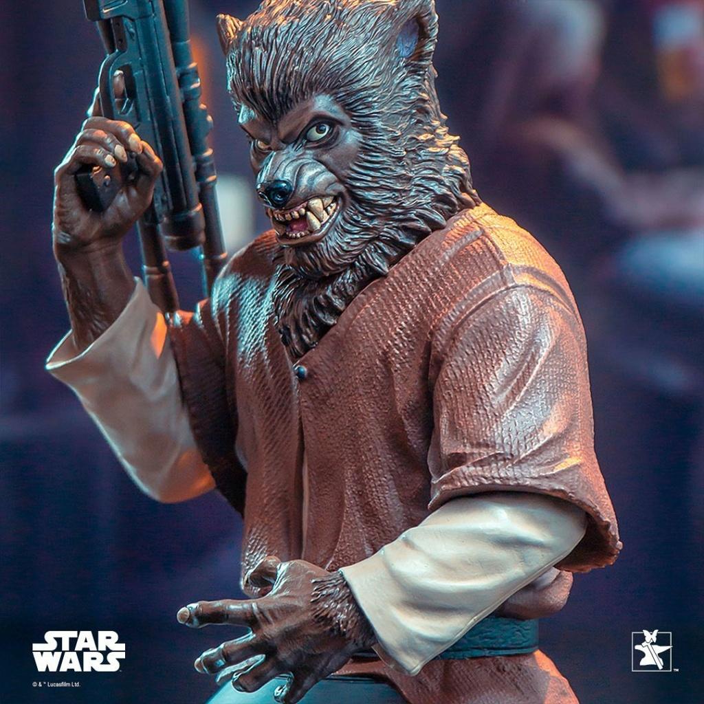 Lak Sivrak Mini Bust - Star Wars - Gentle Giant Lak_si17