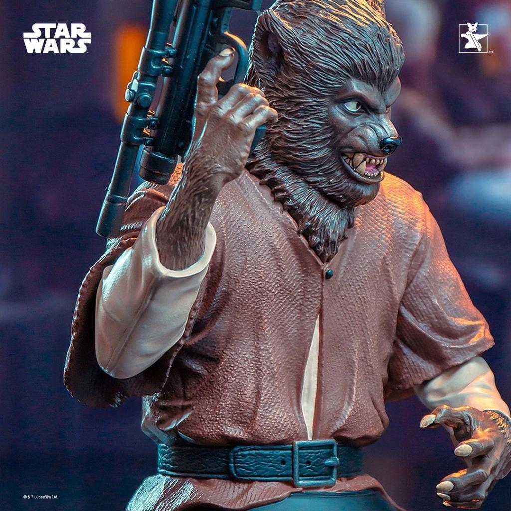 Lak Sivrak Mini Bust - Star Wars - Gentle Giant Lak_si18