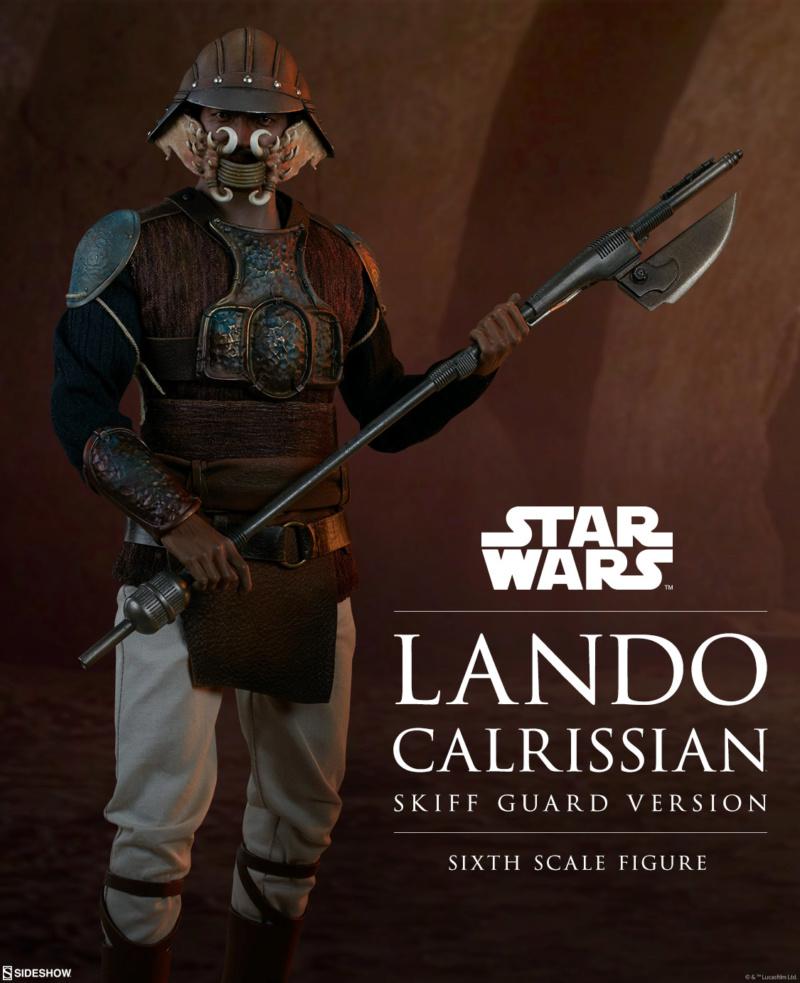 Sideshow - Lando Calrissian (Skiff Guard Version) 6th figure Lando_12