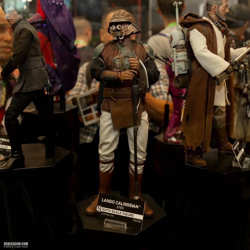 Sideshow - Lando Calrissian (Skiff Guard Version) 6th figure Lando_13