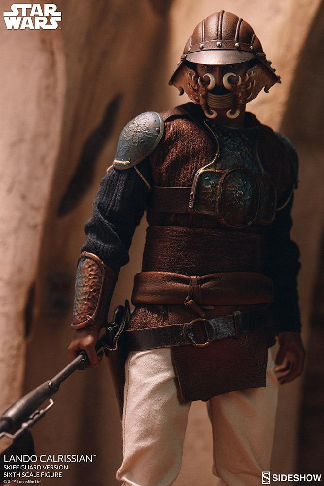Sideshow - Lando Calrissian (Skiff Guard Version) 6th figure Lando_18
