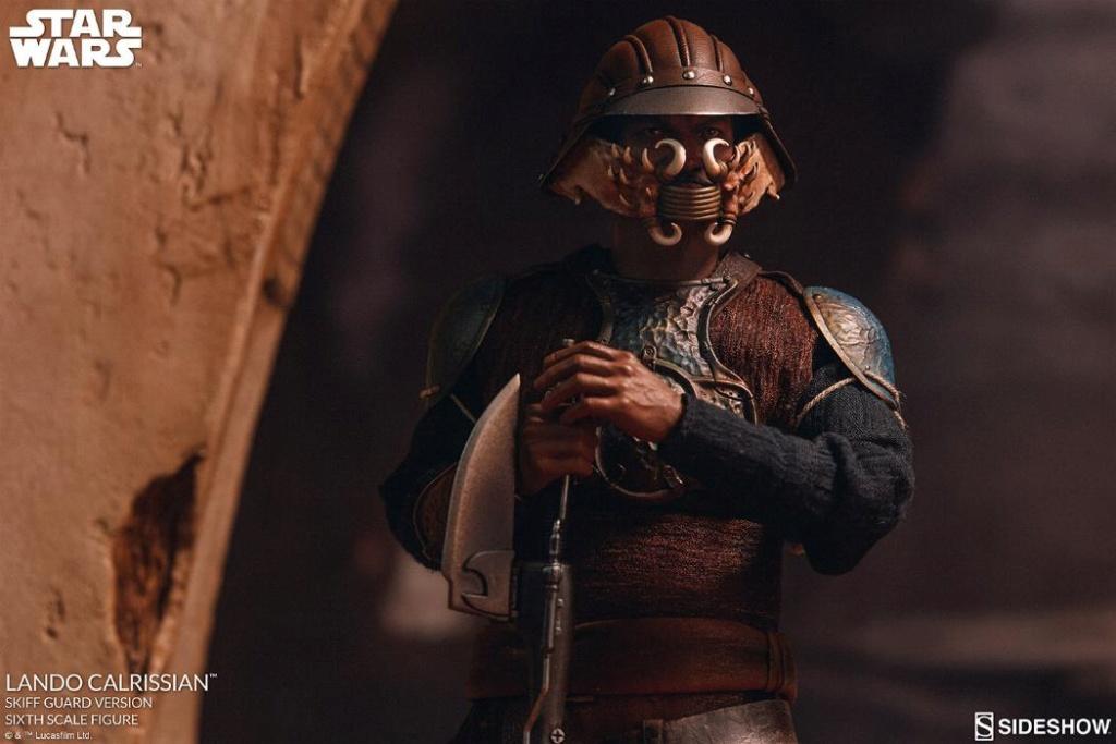 Sideshow - Lando Calrissian (Skiff Guard Version) 6th figure Lando_19