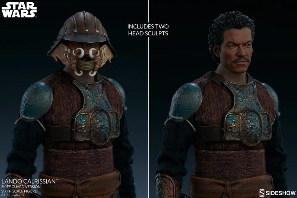 Sideshow - Lando Calrissian (Skiff Guard Version) 6th figure Lando_21
