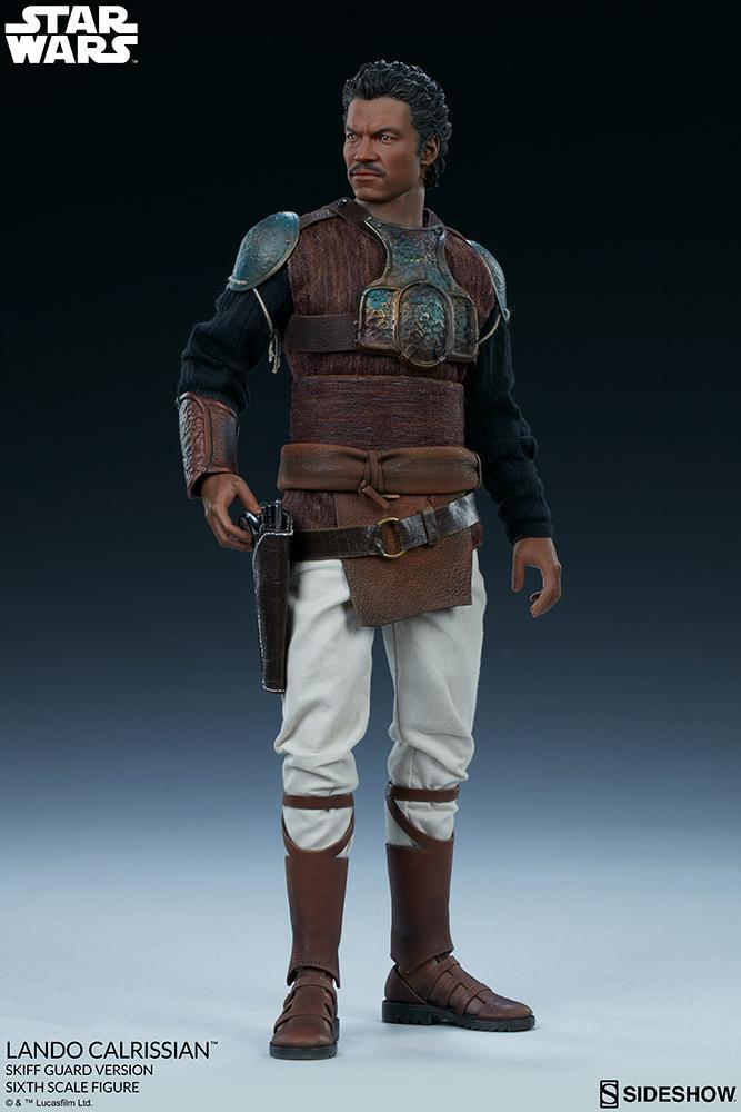 Sideshow - Lando Calrissian (Skiff Guard Version) 6th figure Lando_22