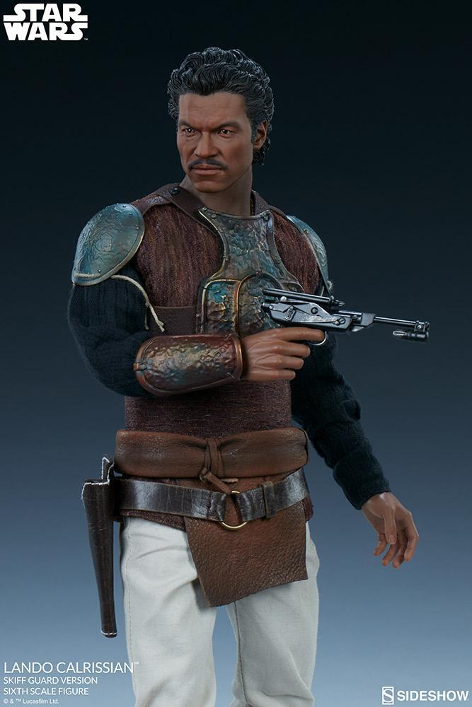 Sideshow - Lando Calrissian (Skiff Guard Version) 6th figure Lando_23
