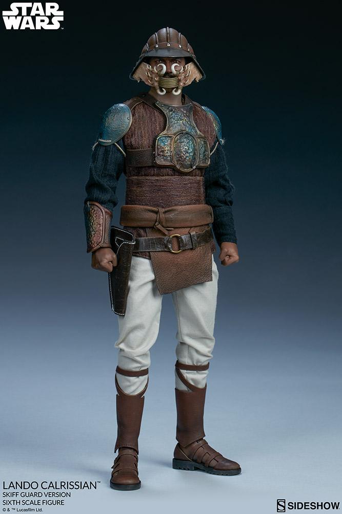 Sideshow - Lando Calrissian (Skiff Guard Version) 6th figure Lando_25