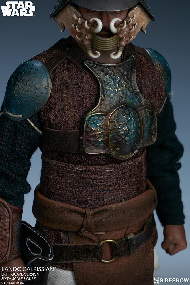 Sideshow - Lando Calrissian (Skiff Guard Version) 6th figure Lando_30