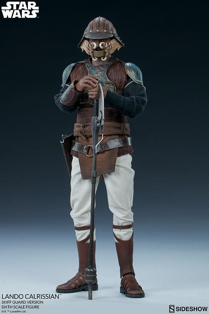 Sideshow - Lando Calrissian (Skiff Guard Version) 6th figure Lando_33