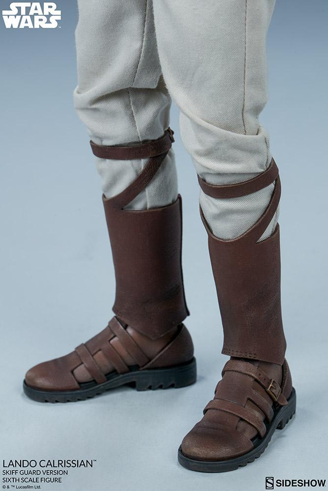 Sideshow - Lando Calrissian (Skiff Guard Version) 6th figure Lando_36