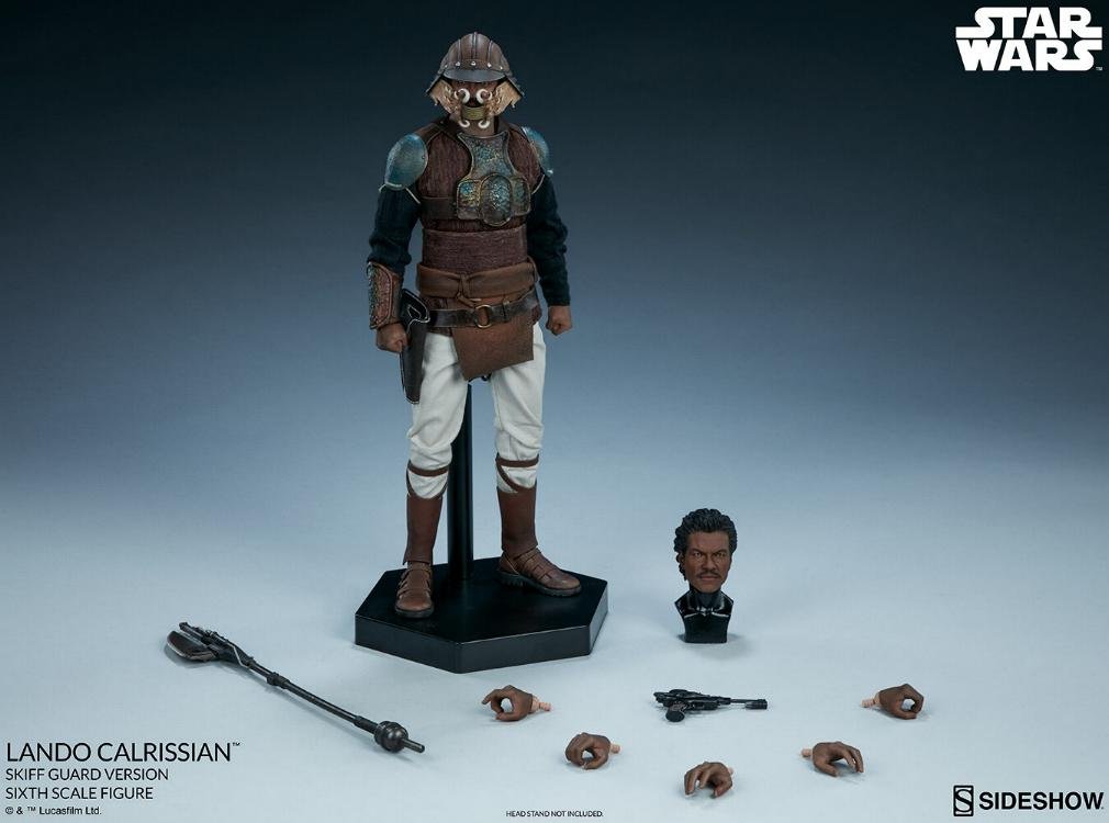 Sideshow - Lando Calrissian (Skiff Guard Version) 6th figure Lando_37