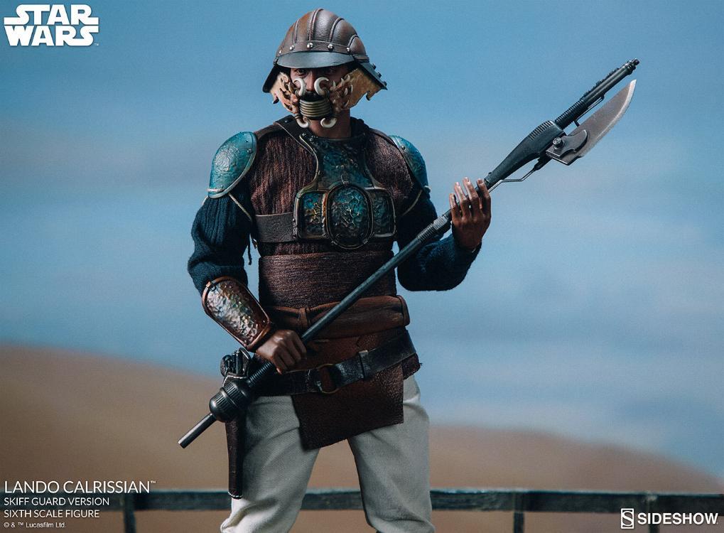 Sideshow - Lando Calrissian (Skiff Guard Version) 6th figure Lando_38