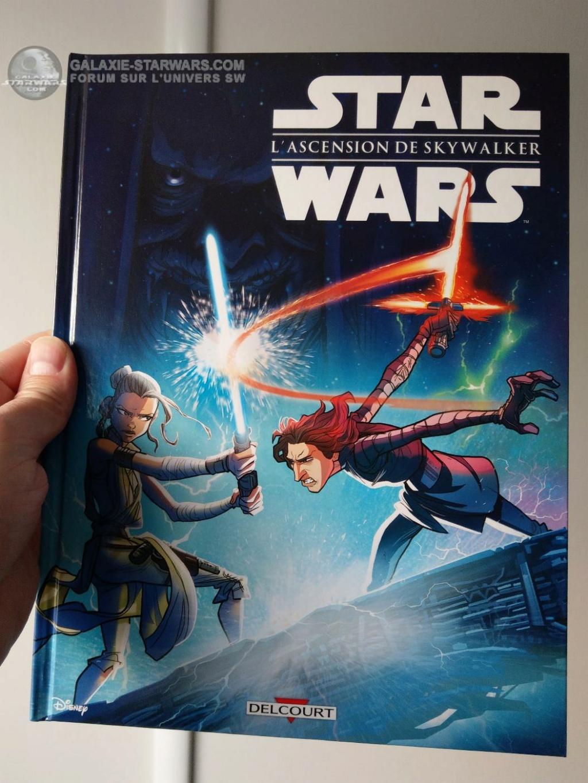 Star Wars L'Ascension de Skywalker (Jeunesse) - DELCOURT Lascen13