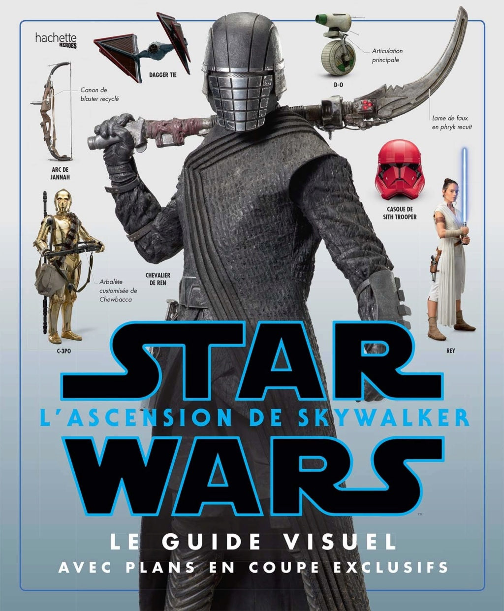 Star Wars L'Ascension de Skywalker Le guide Visuel  Hachette Le_gui10