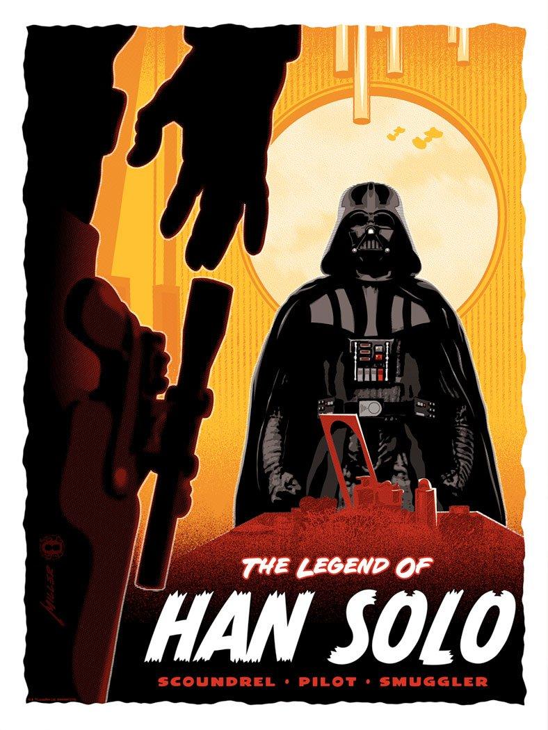 Legend of Han Solo - Star Wars - ACME / Dark Ink Legend13