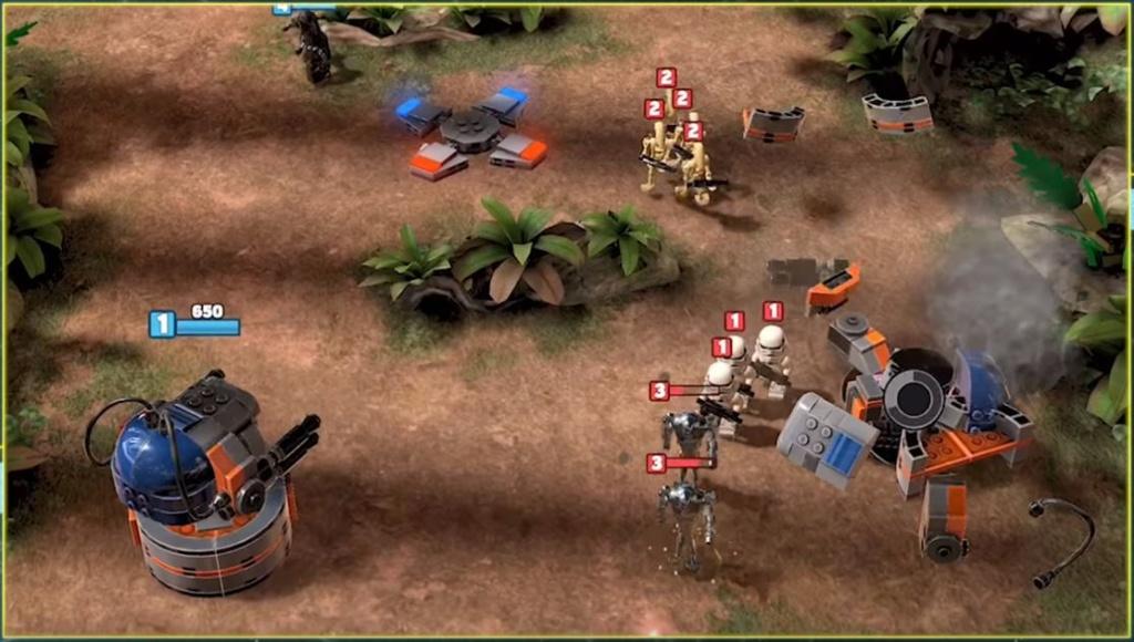 LEGO Star Wars Battles Lego_b11