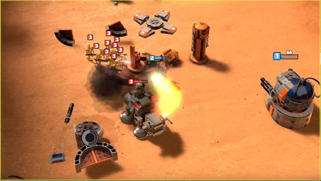 LEGO Star Wars Battles Lego_b13