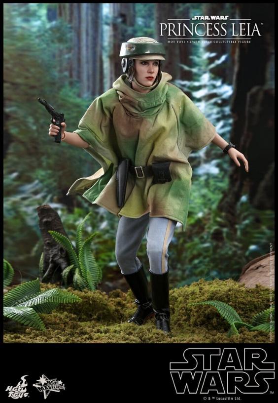 Hot Toys Star Wars - Princess Leia Endor Sixth Scale Figure Leia_e10