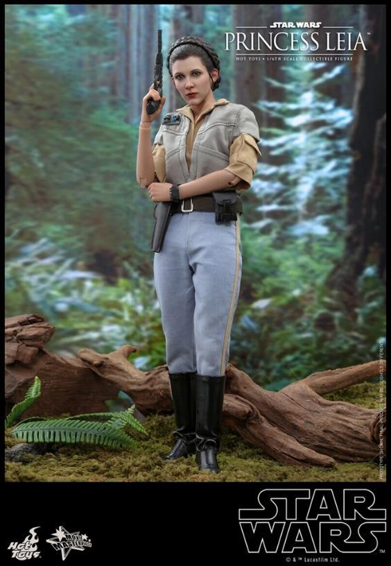 Hot Toys Star Wars - Princess Leia Endor Sixth Scale Figure Leia_e11
