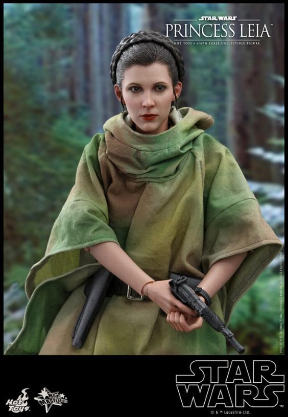 Hot Toys Star Wars - Princess Leia Endor Sixth Scale Figure Leia_e12