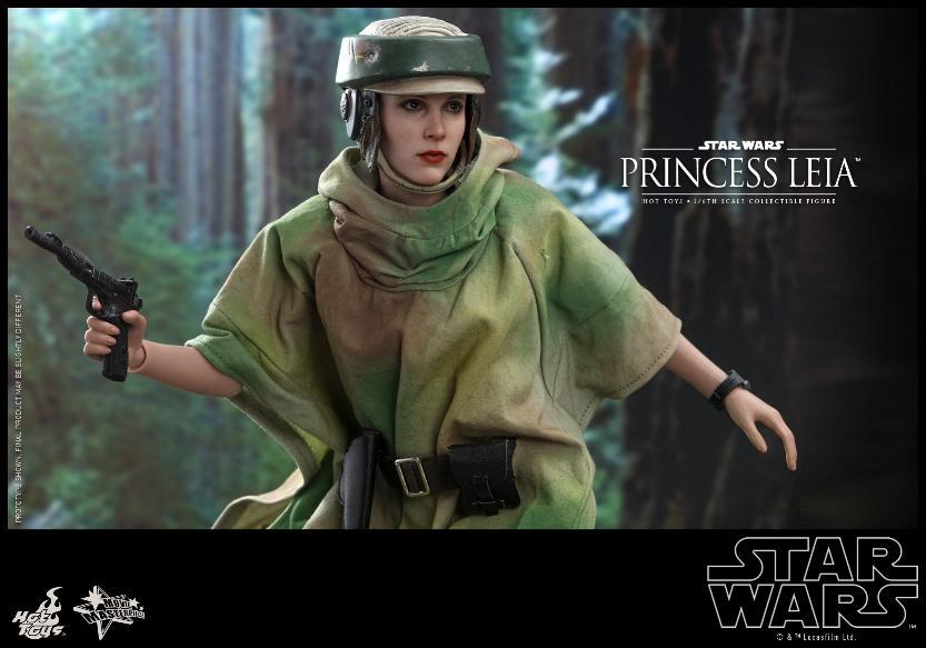 Hot Toys Star Wars - Princess Leia Endor Sixth Scale Figure Leia_e13