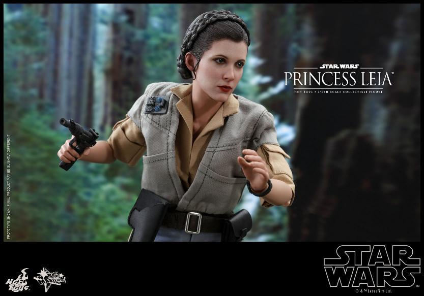 Hot Toys Star Wars - Princess Leia Endor Sixth Scale Figure Leia_e14