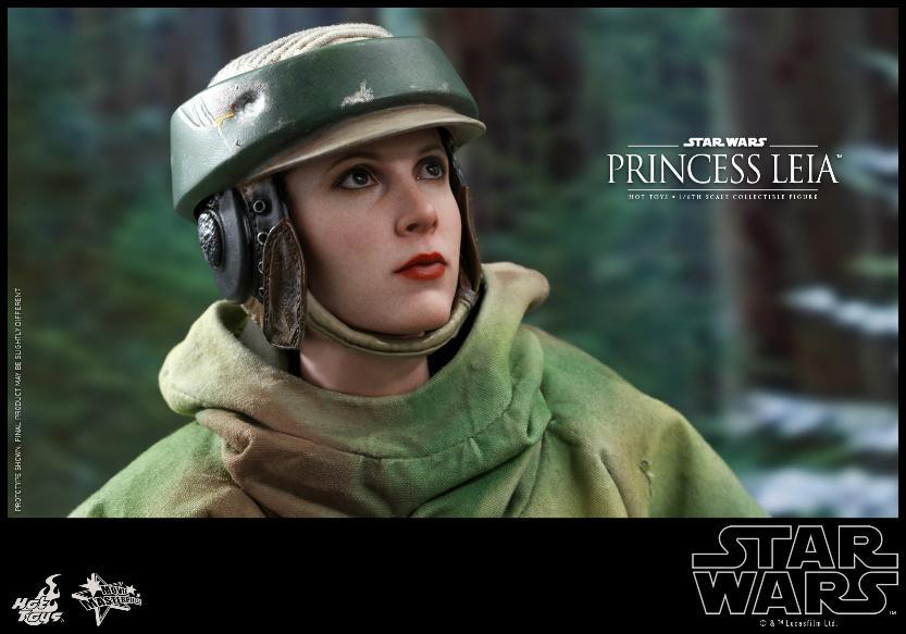 Hot Toys Star Wars - Princess Leia Endor Sixth Scale Figure Leia_e15