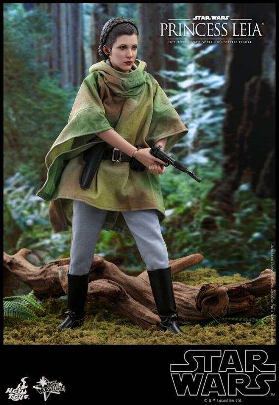 Hot Toys Star Wars - Princess Leia Endor Sixth Scale Figure Leia_e18