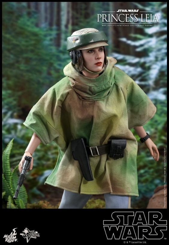 Hot Toys Star Wars - Princess Leia Endor Sixth Scale Figure Leia_e19