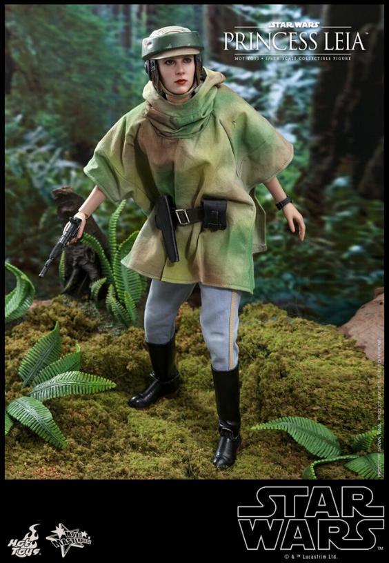 Hot Toys Star Wars - Princess Leia Endor Sixth Scale Figure Leia_e20