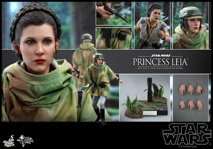 Hot Toys Star Wars - Princess Leia Endor Sixth Scale Figure Leia_e22