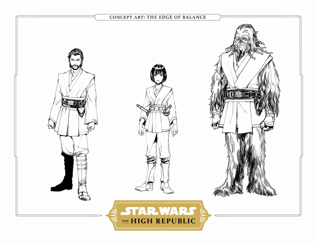 Star Wars The High Republic The Edge of Balance Lily_t12