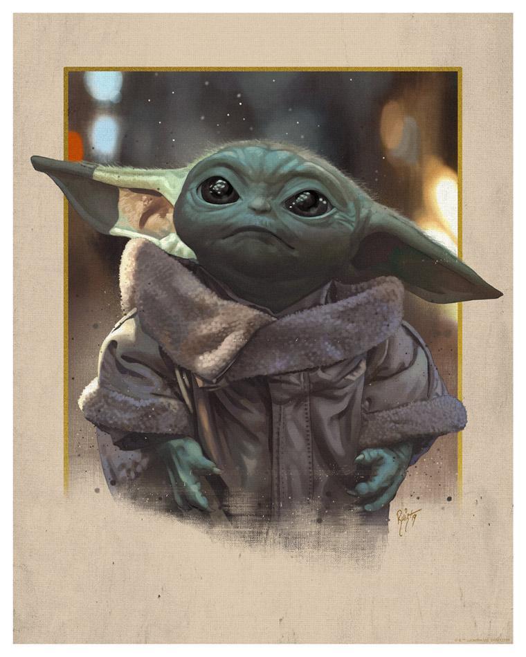 Star Wars The Mandalorian - Little Bounty - Dark Ink Little10