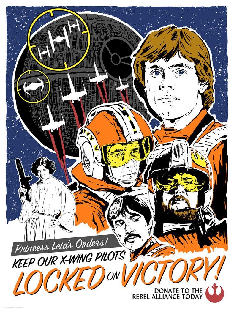 Locked on Victory - Star Wars - ACME Locked10