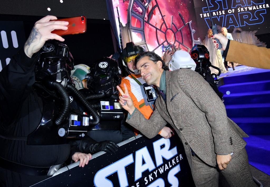 9 - Star Wars The Rise Of Skywalker - Les avants premières  London13