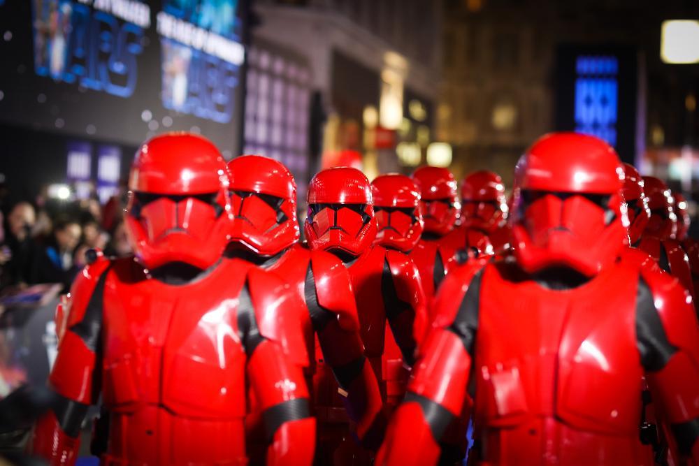 9 - Star Wars The Rise Of Skywalker - Les avants premières  London31