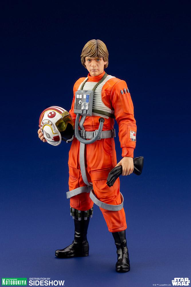 Luke Skywalker ANH Pilot - ARTFX+ 1/10th - Kotobukiya Luke-s11