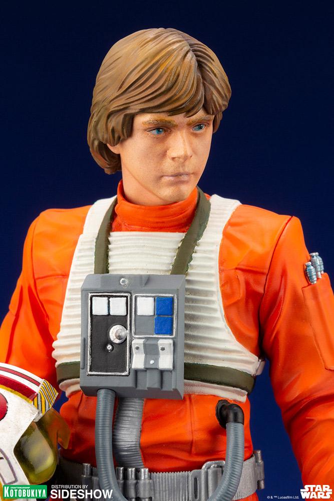 Luke Skywalker ANH Pilot - ARTFX+ 1/10th - Kotobukiya Luke-s12
