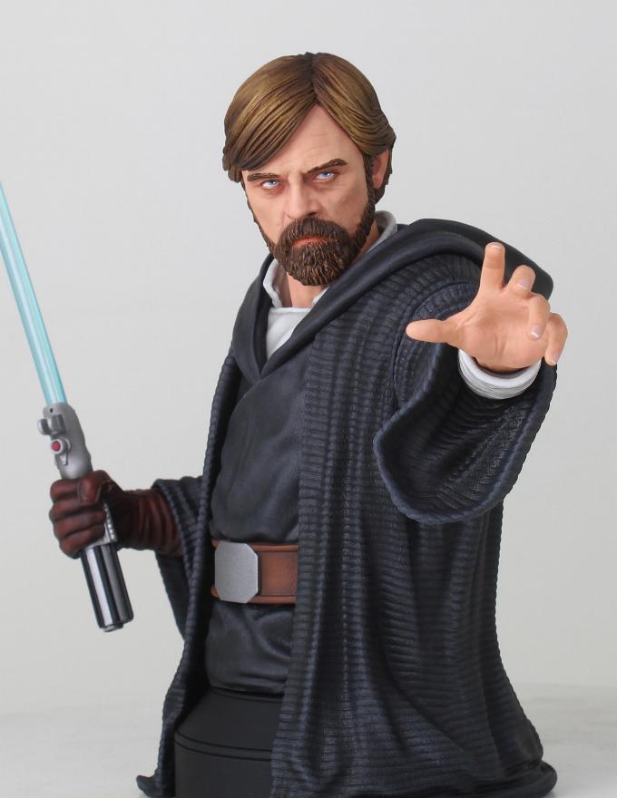 Gentle Giant - LUKE SKYWALKER - The Last Jedi 1:6 Resin Bust Luke_b10