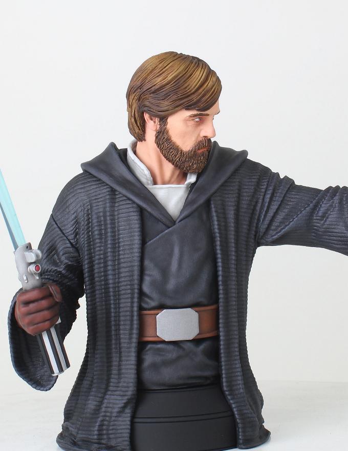 Gentle Giant - LUKE SKYWALKER - The Last Jedi 1:6 Resin Bust Luke_b11