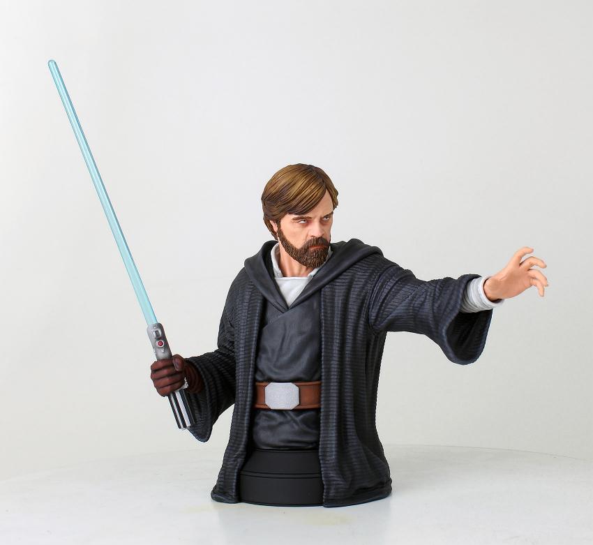 Gentle Giant - LUKE SKYWALKER - The Last Jedi 1:6 Resin Bust Luke_b15