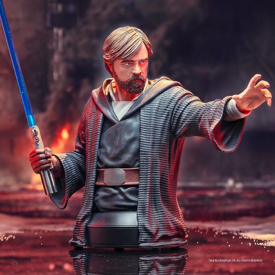 Gentle Giant - LUKE SKYWALKER - The Last Jedi 1:6 Resin Bust Luke_b16